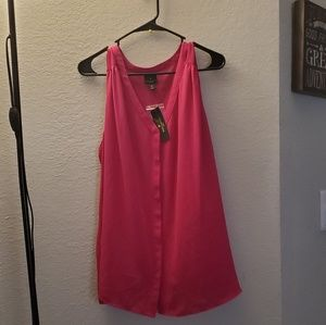 Sleeveless Pink Shirt